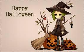 anime halloween wallpaper