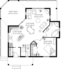 1 room cabin plans one room cabin tiny oneroom timber boasts picturesque modern floor