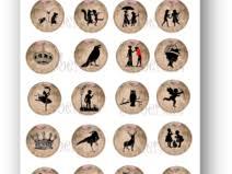 Cabochon Vorlagen Blau Cabochon Vorlagen Weihnachten 70 Individuelle Produkte Aus Der