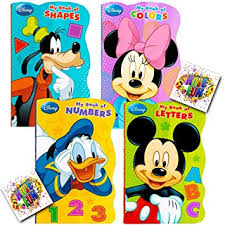 disney mickey mouse my books set of 4