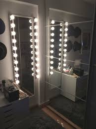 full length lighted wall mirrors at the corner of my room is two full length mirrors prior to the