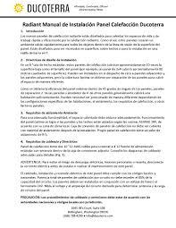 ducoterra solaray product information