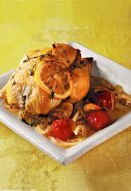 cuisiner le coquelet recette coquelet au citron et tomate cerise