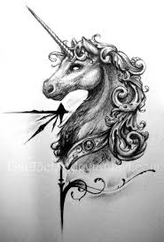 the unicorn tattoo u0027s shoulder tattoo hongyin tattoo studio