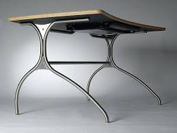 Stainless Steel Office Desk Knifty Desk 4 The Jump Desk Curved Modern Home Office Desk With