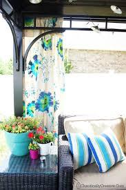 Outdoor Gazebo Curtains Tulip Tie Dye Outdoor Gazebo Panels Chaotically Creative