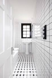 White Bathroom Ideas Pinterest by 93 Best Black And White Bathrooms Images On Pinterest Bathroom