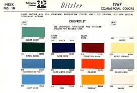 paint color codes the 1947 present chevrolet u0026 gmc truck