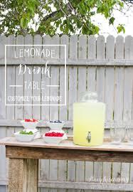 lemonade drink table stacy risenmay