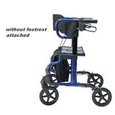 Transport Walker Chair Hybridlx Combination Rollator Transport Wheelchair Lumex Lx1000b