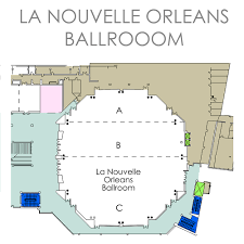 New Orleans Floor Plans by Floor Plans Ernest N Morial Convention Center