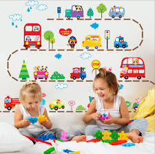 hot sale cute cartoon cars traffic wall sticker baby boys room 2016 hot sale cute cartoon cars traffic wall sticker baby boys room decorative automobile stickers poster for