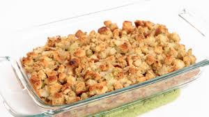 easy turkey stuffing recipes for thanksgiving classic stuffing recipe laura vitale laura in the kitchen