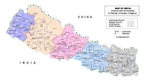 Map Of Nepal India by Maps Of Nepal Detailed Map Of Nepal In English Tourist Map Of