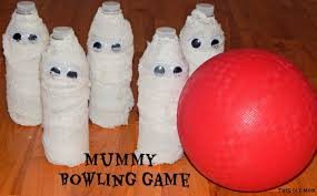 halloween games com mummy bowling game this ole mom