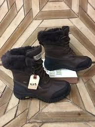 ugg s adirondack winter boots ugg australia s adirondack ii winter boots in brown size 6