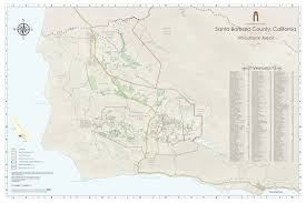 Ojai California Map Ava Maps Santa Barbara Vintners
