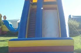 Backyard Bounce Slides Backyard Bounce
