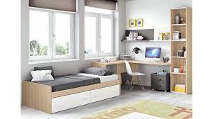 chambre lit chambre moderne ado et avec lit 2 coffres glicerio so nuit