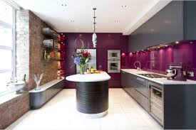 cuisine grise et aubergine kitchen eggplant color purple inspirations 71 ideas anews24 org