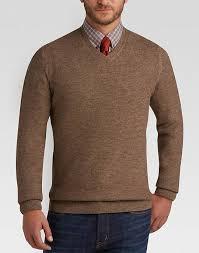 v neck sweater s joseph abboud light brown v neck sweater s sweaters s