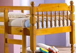 Small Single Pine Spindle Bunk Bed Ft  Small Single Bunk Beds - Pine bunk bed