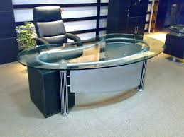 Modern Glass Top Desk Office Table Glass Top Glass Table Office Glass Office Desk Modern