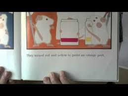 mouse paint color mixing preschool kids youtube