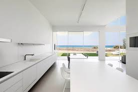 beautifully designed minimal house with sea view the architects