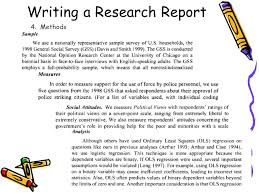 national sample survey reports writing a research report ppt video online download