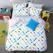 flat sheets king size pretty geometric plaid bed sheets