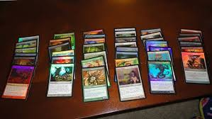 foil magic the gathering cards and packers blanket secret santa