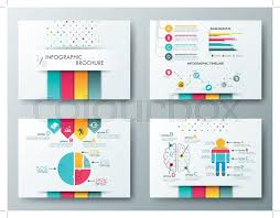 graphic design templates for flyers set of flyer brochure design templates infographic vector elements