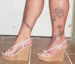 155 trendy ankle tattoos for