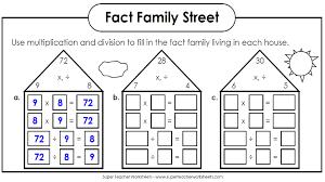 fact practice worksheets worksheets