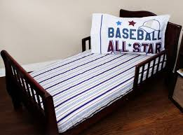 Sports Toddler Bedding Sets Bedroom Baseball Bedding Unique Baseball Toddler Bed Set