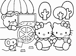 kitty colouring pages results calendar