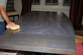 diy concrete table top concrete table top chic and durable