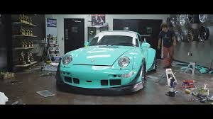 rauh welt porsche green new short documentary goes inside the newest rwb build