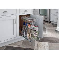 ingenious black closetmaid cabinet roselawnlutheran closetmaid 3 tier compact kitchen cabinet pull out basket