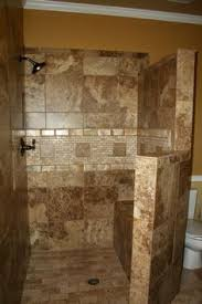 Shower Ideas For Bathrooms Eliminating A Shower Door With A Low Maintenance Glass Block Walk