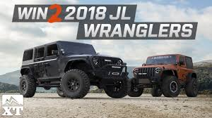jeep rubicon 2017 maroon jeep wrangler giveaway win two 2018 jl wranglers youtube