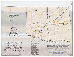 Montana Hunting Maps by Public Hunting On Du Projects In Oklahoma