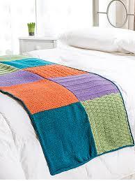 ravelry sampler bed runner pattern by denise layman