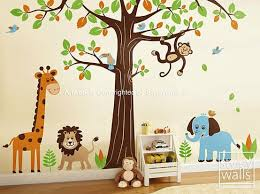 Jungle Nursery Wall Decor Room For Baby Krazy Kiddos Pinterest Room Babies And