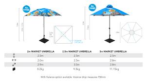 Custom Patio Umbrella by Printed Market Umbrellas Unique Curved Or Standard Shape