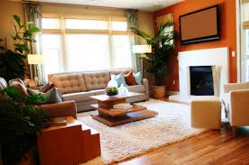 Rug In Living Room Living Room Furniture L Shaped Brown Leather Sleeper Sofa With