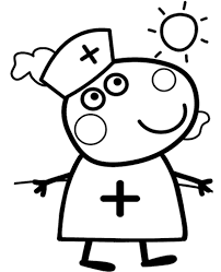 peppa coloring 10 png 600 740 peppa pig coloring pages