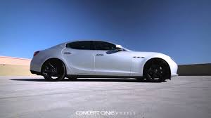 maserati quattroporte black rims concept one wheels maserati ghibli cs 6 black youtube