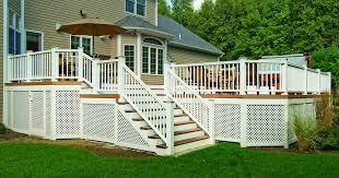 railings archadeck custom decks patios sunrooms and porch builder